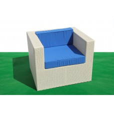 Кресло из ротанга Patio Furniture Валенсия белое