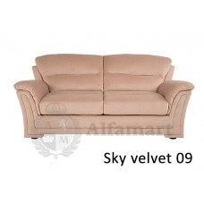 Диван прямой Home Collection Ливерпуль 3р Sky velvet 09