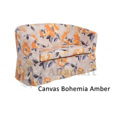 Диван прямой Home Collection Париж 2р Bohemia canvas Amber